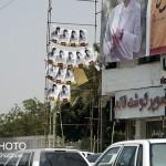 جمع آوری تبلیغات انتخاباتی توسط یک هزار پاکبان در بندرعباس
