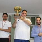 دانشگاه آزاد اسلامی الف قهرمان شطرنج بندرعباس شد
