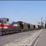 جابه جایی چهارمیلیون و۷۸۶ هزار و ۸۸۶ تن کالا توسط راه آهن هرمزگان