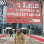 درخشش ناصر رهسپار صنعتگر مینابی در نمایشگاه ترکیه+تصاویر