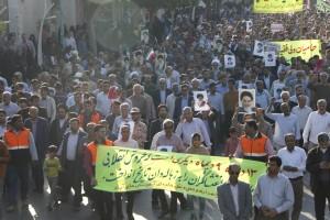 حماسه ۱۳دی در بندرعباس/عکس:علیرضا بهاری