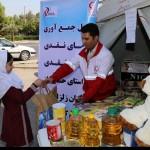 جمع آوری کمک های مردم برای زلزله زدگان کرمانشاه تا۴ آذرادامه می یابد