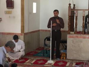 احمد مرادی در دیدار با اهالی گچین