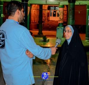 مستندسازان بسیج رسانه در اربعین حسینی