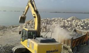 تخریب ساحل بندرعباس